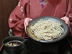 料理:山芋とろろと水菜の量@生粉蕎麦・玄・長浜