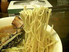 料理:もやしラーメン麺@魚介豚骨醤油いっき・薬院
