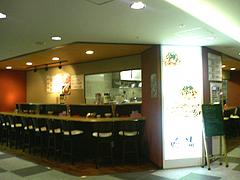店内:カウンターのみ@肉そば・喰海・つけ麺・天神