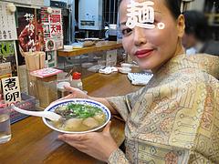 料理:ラーメン食べる@トキハラーメン・天神