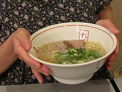 料理:ラーメン550円@長浜屋台やまちゃん福岡天神店
