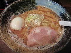 11ランチ:こってり豚骨魚介・味玉らーめん780円@ラーメン・つけ麺・中華蕎麦・翠蓮