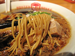 12ランチ:中洲ブラック麺@ホウテン食堂・奉天本家・中洲