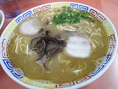 料理:ラーメン550円@博龍軒・博多区馬出九大病院前