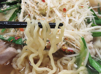 14博多もつラーメン麺