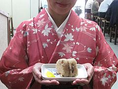14ランチ:かしわおにぎり@博多さぬきうどん・渡辺通り店