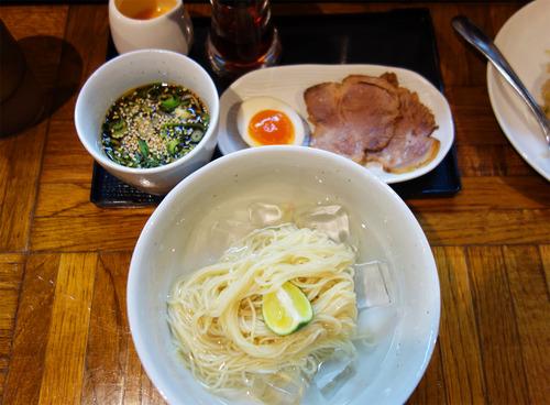 【福岡】冷やしラーメン&平日限定ランチセット♪@秀ちゃんラーメン とんぼ店