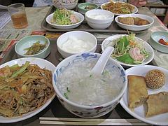7ランチ:お粥セット900円@点心楼・台北・清川店
