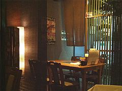 2店内:テーブル席@大衆居食家しょうき・西中洲店