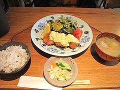 10ランチ:地鶏チキン南蛮定食(阿波尾鶏)890円@キッチン良い一日・長尾店