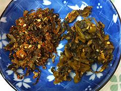 6ランチ:辛子高菜と高菜漬@ビック鯛はのぼる・サンセルコ