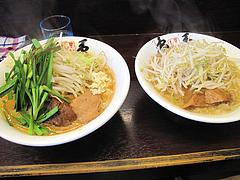 ランチ:ニラ担麺とラーメン小@島系本店・志免本店