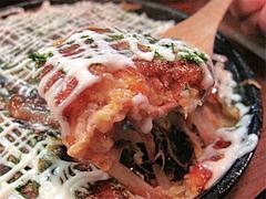 料理:山芋鉄板焼きアップ@やきとり処・博多こっこ家・春吉
