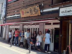 21外観:向かいは博多一風堂・西通り店@博多大福うどん・うどんすきと水炊き