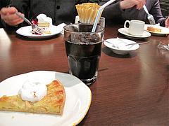 料理:ケーキセット食べる@イタリア料理カプリチョーザ博多デイトス店