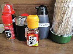 店内:卓上@博多麺業・島系・春吉店
