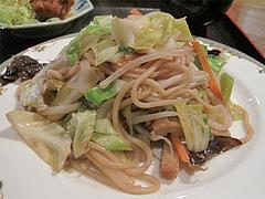 11ランチ:広東風やきそば単品500円@大連屋台料理Lee(李・リー)