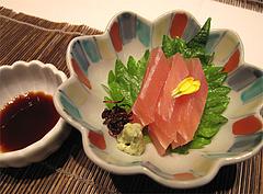 料理:季節のお造り@中村孝明・ホテルマリターレ創世・久留米