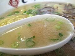 料理:ラーメンスープ@ラーメンとらや渡辺通り店