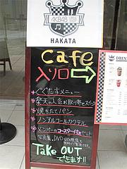 27店内:カフェ看板@AKB48 CAFE&SHOP HAKATA(エーケービー48 カフェ&ショップ ハカタ)・天神・福岡