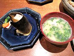 料理:筍ご飯と味噌汁@柳町一刻堂