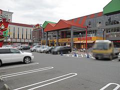 外観:楽一街道の駐車場@味千拉麺・福岡東店・楽一街道箱崎店