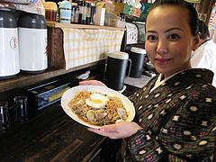 7ランチ:焼ラーメン(皿盛り)680円@屋台KENZO Cafe(ケンゾーカフェ)・きたなトラン