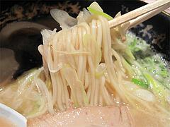 ランチ:黒のコクとんこつラーメン麺@一心不乱・大名本店・天神西通り
