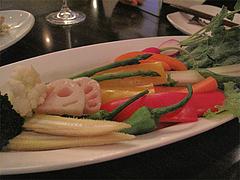 料理:バーニャカウダの野菜@Casadol Kitchen(カサドール・キッチン)・今泉・天神