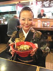ランチ:富山ブラックらーめん700円@麺家いろは・富山ブラック・キャナルシティ・ラーメンスタジアム