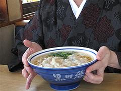 料理:かぼちゃ天うどん食べる@筑前うどん黒田藩・井尻