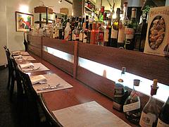 2店内:カウンター席@La Terra(ラ・テッラ)・イタリアン・七隈