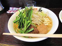 ランチ:ニラ担麺750円@島系本店・志免本店