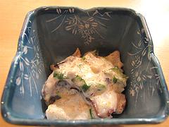 料理:ランチにぎりセットの小鉢@寿し赤坂・福岡