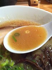 ランチ:豚骨らーめんスープ@ラーメン壱の家・西通り・天神