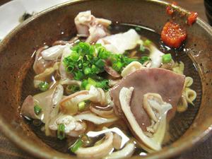 7つゆだくの酢もつ290円@めんちゃんこ亭・藤崎