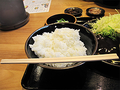 ランチ:ご飯@日の出食堂・博多駅