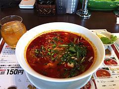 ランチ:トムヤム麺850円@タイ料理レストラン・バンダル・天神西通り