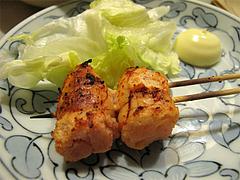 料理:明太子の焼き鳥@屋台・新妻・天神・福たび