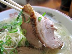 料理:らーめんチャーシュー@博多めんとく屋(麺篤屋)