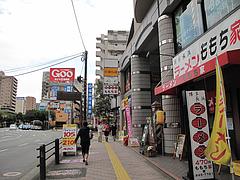 17外観:西新・藤崎商店街近く@博多長浜ラーメン・ももち家・藤崎