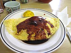 料理:オムライス550円@あじよし・渡辺通