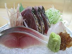 11和食・鰻:鯖と鰹のお造り@中洲しか野・う奈ぎ(うなぎ)道場・松戸