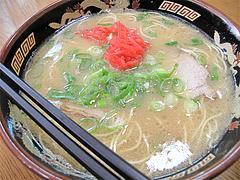 料理:ラーメン450円@長浜ラーメン・みっちゃん