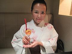 1夜:ウニとイクラのカクテル寿司@たつみ寿司・総本店・博多
