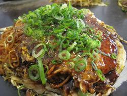 4辛麺お好みがん見@お好み焼き・ひらの