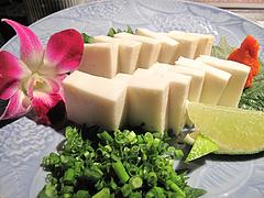 11和食:白子豆腐@英二楼・河豚料理・海鮮居酒屋