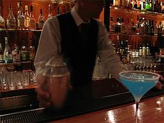 7カクテル:青いのちょうだい@バー是空・西中洲
