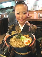 ランチ:濃厚ブラックつけ麺並850円@麺家いろは・富山ブラック・キャナルシティ・ラーメンスタジアム