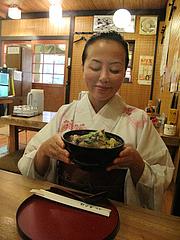 12ランチ:もつ鍋ラーメン700円@居酒屋・井戸端・博多川端商店街